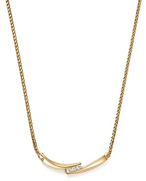 Bloomingdale's Diamond Statement Necklace in 14K Yellow Gold, 0.75 ct. t.w. - 100% Exclusive