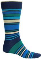 Bruno Magli Striped Socks - Crew (For Men)