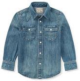 Ralph Lauren Childrenswear Western Denim Collared Shirt