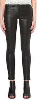 Paige Hoxton skinny high-rise leather jeans