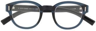 Christian Dior Fraction round glasses