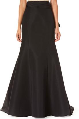 Carolina Herrera Icon Knotted Trumpet Skirt