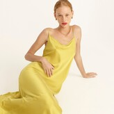 Thumbnail for your product : J.Crew Limited-edition tie-back silk charmeuse slip dress