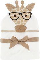 Baby Vision Hudson Baby® Nerdy Giraffe Hooded Towel