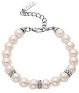 Nina Women's Imitation Pearl & Crystal Bracelet