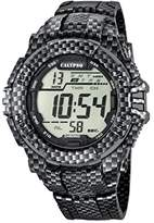 Calypso Men's Digital Watch with LCD Dial Digital Display and Multicolour Plastic Strap K5681/7