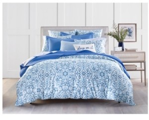 Charter Club Damask Designs Filigree 300-Thread Count Twin Duvet Set, Created for Macy's Bedding