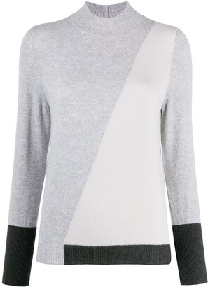 Lorena Antoniazzi Colour-Block Sweater