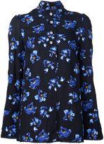 Proenza Schouler floral print shirt - women - Viscose - 4