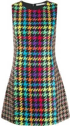 Alice + Olivia Alice+Olivia houndstooth shift dress