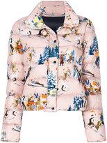 Moncler Clairette short padded jacket