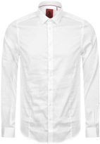 Luke 1977 Butchers Pencil Shirt White