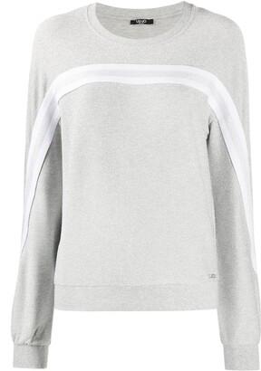 Liu Jo Stripe Detail Sweatshirt