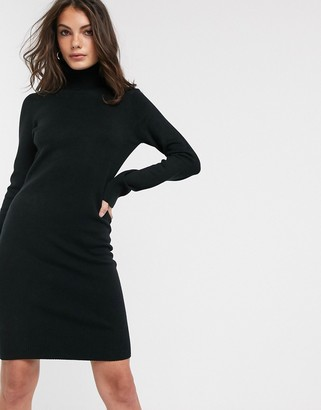 French Connection Babysoft rollneck sweater dress