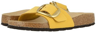 Birkenstock Madrid Big Buckle (Ochre Nubuck) Women's Sandals
