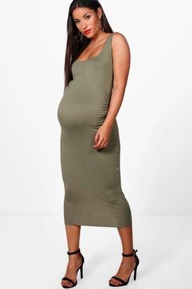 boohoo Maternity Bodycon Dress