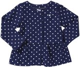 Carter's Dotted Knit Cardigan (Toddler/Kid) - Print-2T