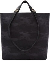 Haerfest Black Camo Canvas Tote Bag
