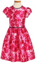 Oscar de la Renta Toddler Girl's Wild Roses Mikado Party Dress