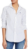 Polo Ralph Lauren Relaxed-Fit Striped Broadcloth Shirt