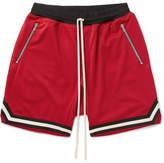 Fear Of God Mesh Drawstring Shorts - Red