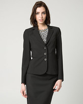 Le Château Stretch Viscose Blend Notch Collar Blazer