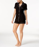 Cosabella Bella Satin-Trim Short Pajama Set AMORE9621