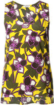 P.A.R.O.S.H. sleeveless floral top - women - Silk - S