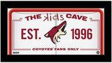 "Steiner Sports Arizona Coyotes 10"" x 20"" Kids Cave Sign"