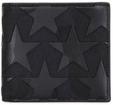 Valentino Camustar Leather & Canvas Classic Wallet