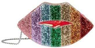 Bari Lynn Rainbow Lips Bag