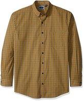 Arrow Men's Big and Tall Long Sleeve Plaid Shirt