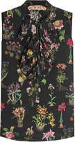 N°21 N21 Printed Silk Sleeveless Blouse