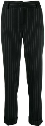 P.A.R.O.S.H. Straight Pinstripe Trousers