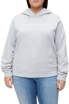 Calvin Klein Jeans Inclusive Shrunken Instit Hoodie