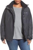 Columbia Alpine Action Waterproof Omni-Heat ® Hooded Jacket (Plus Size)
