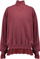 Haider Ackermann Stretch-cotton sweatshirt