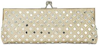 Adrianna Papell Nicola Mirrored Clutch