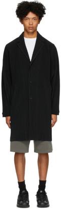 Issey Miyake Homme Plisse Black Long Basics Blazer