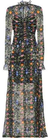 Preen by Thornton Bregazzi Ammeline silk-blend gown