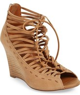 Linea Paolo 'Willow' Cage Wedge Sandal (Women)