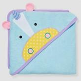 Skip Hop Baby Girls' Zoo Hooded Towel Unicorn