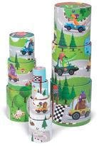 Janod Racing Themed Stacking Tower Set
