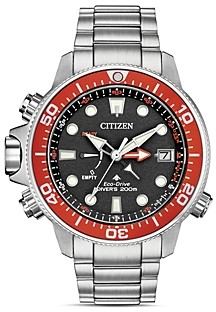 Citizen Stainless Steel Promaster Aqualand Eco-Drive Watch, 46mm