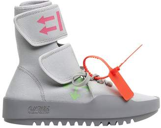 Off-White Off White grey moto wrap sneaker