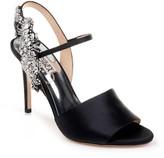 Badgley Mischka Lidia Embellished Heel Sandal