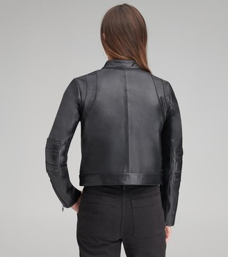 Andrew Marc   Final Sale Gimli Leather Moto Jacket