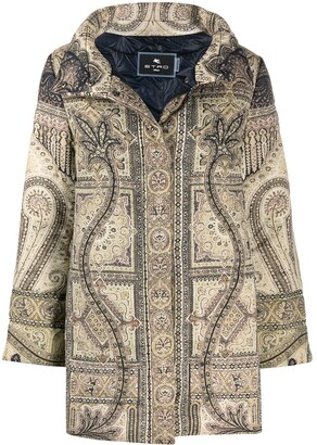 Etro Paisley Print Zip-Up Jacket