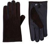 Barneys New York Men's Tech-Smart Gloves-BROWN
