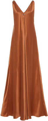 Co Silk-Satin Maxi Dress